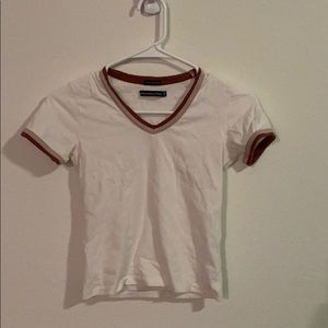Abercrombie and Fitch white tee